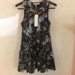 BCBGeneration front-zip sleeveless mini-dress